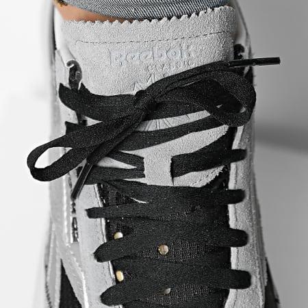 Reebok - Baskets Classic Leather Legacy AZ H69114 Grey 5 Silver Metallic Black