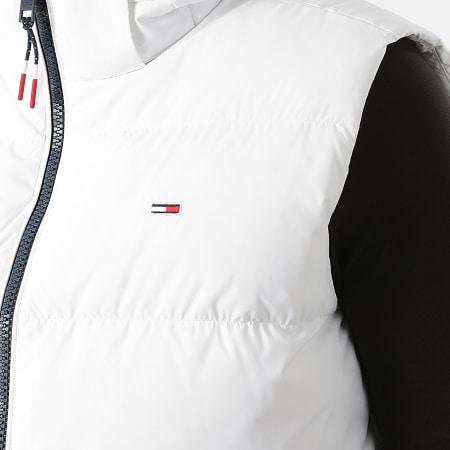 Tommy Jeans - Doudoune Sans Manches Capuche Essential 1215 Blanc