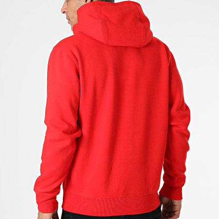 Tommy Hilfiger - Sweat Capuche Timeless 2 1628 Rouge