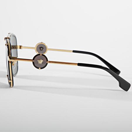 Versace - Lunettes De Soleil 0VE2233 Noir Doré