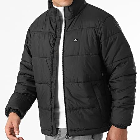 adidas - Doudoune Pad Stand Puffer H13551 Noir