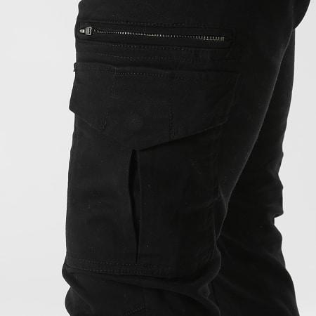 Redskins - Pantalon Cargo Tonvui Mahevan Noir