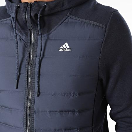 adidas - Veste Zippée Capuche GE5825 Bleu Marine