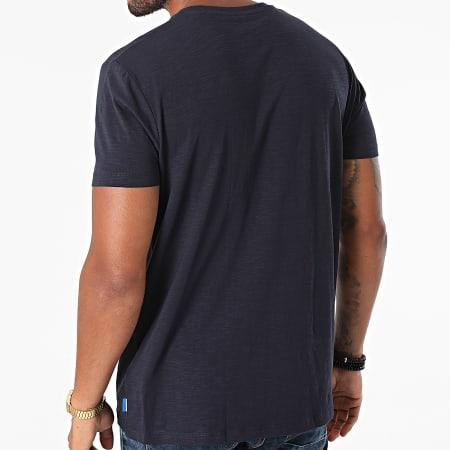 edc By Esprit - Tee Shirt Poche 050CC2K321 Bleu Marine Floral