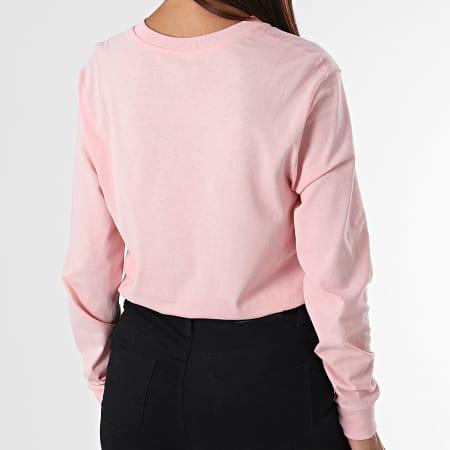 Vans - Tee Shirt Manches Longues Femme VN0A47WNZJY1 Rose
