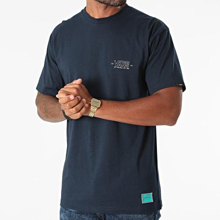 Vans - Tee Shirt Sequence A5KCF Bleu Marine