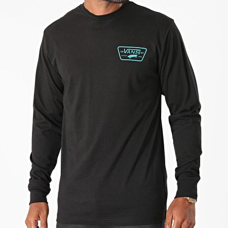 Vans - Tee Shirt Manches Longues Full Patch Back A2XCMKSF1 Noir