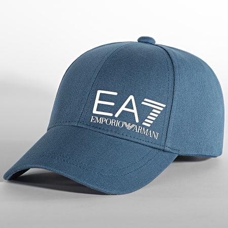 EA7 - Casquette 275936-0P010 Bleu Pétrole