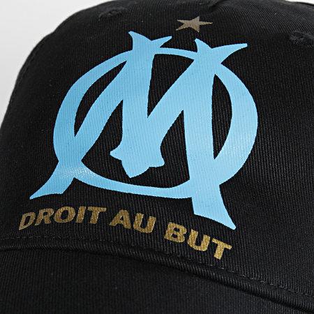 Puma - Casquette OM Team Cap 022472 Noir