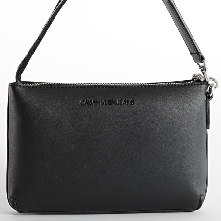 Calvin Klein Jeans - Sac A Main Femme Sculpted Shoulder 8689 Noir