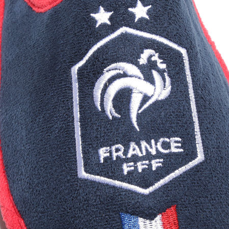 FFF - Pantoufles Fan F21029 Bleu Marine