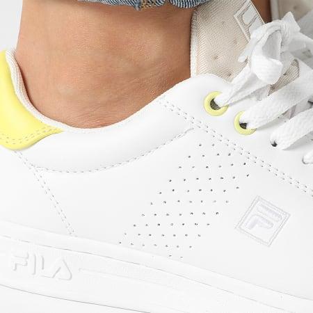 Fila - Baskets Femme Crosscourt 2 NT 1010900 White Sunny Lime