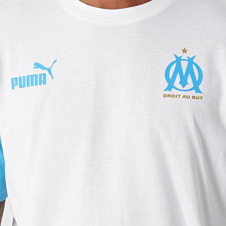 Puma - Tee Shirt OM 764411 Blanc