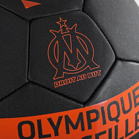 OM - Ballon De Foot Metallic M21067 Noir Orange