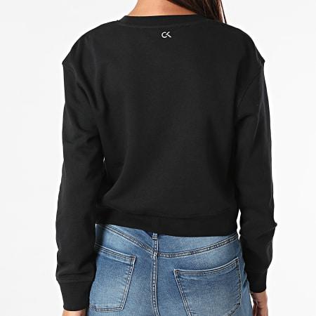 Calvin Klein - Sweat Crewneck Femme W312 Noir