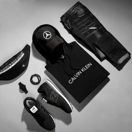 Calvin Klein - Sweat Capuche Réfléchissant GMF1W304 Noir