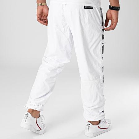 Versace Jeans Couture - Pantalon Jogging Crinkle Nylon 71GAA102-CQS04 Blanc