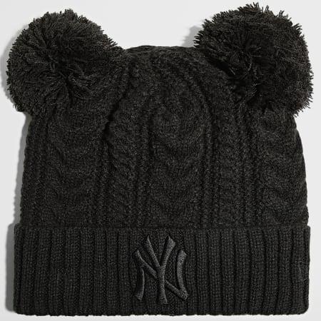 New Era - Bonnet Femme Double Pom Cuff 60141699 New York Yankees Noir