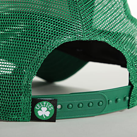 New Era - Casquette Trucker Team Arch 60141870 Boston Celtics Vert Blanc