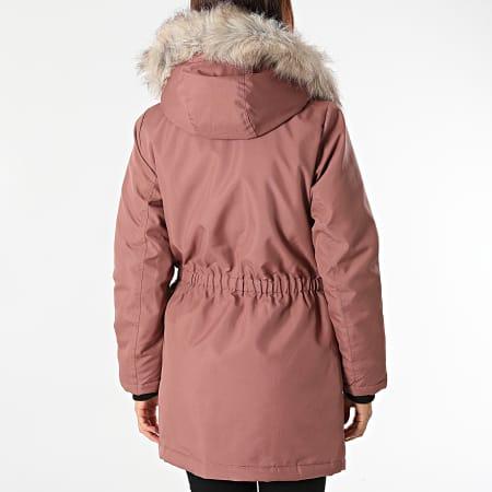 Only - Parka Fourrure Femme Iris Fur Winter Rose