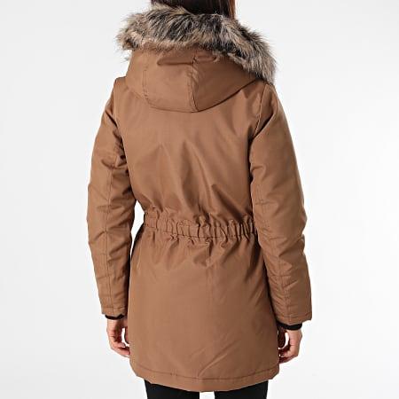 Only - Parka Fourrure Femme Iris Fur Winter Camel