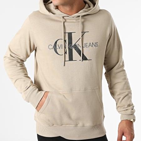Calvin Klein Jeans - Sweat Capuche 4557 Beige