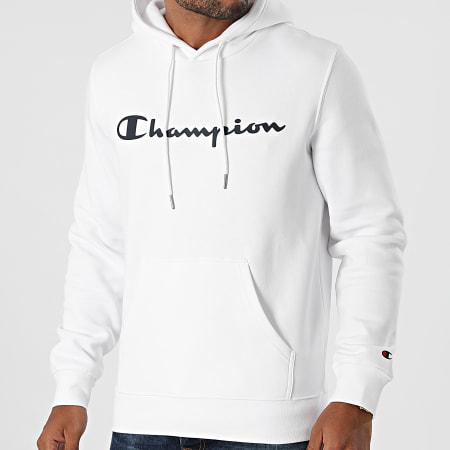 Champion - Sweat Capuche 214743 Blanc