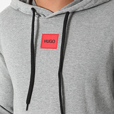 HUGO By Hugo Boss - Sweat Capuche 50458700 Gris Chiné