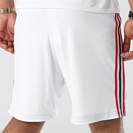 adidas - Short Jogging A Bandes Arsenal GS2454 Blanc