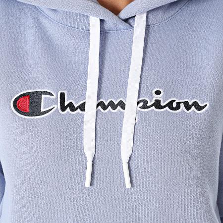 Champion - Sweat Capuche Femme 114461 Lilas