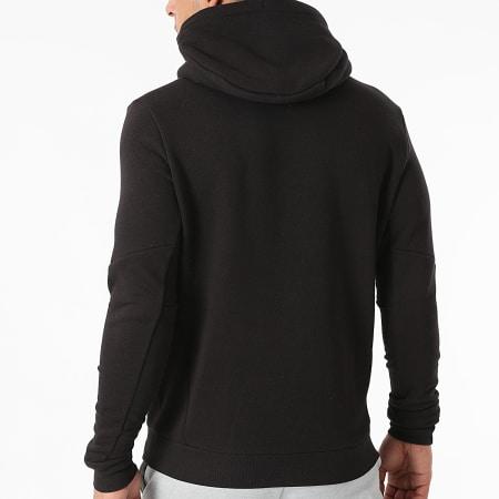 Tommy Sport - Sweat Capuche Logo Fleece 9775 Noir