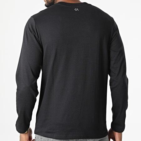 Calvin Klein - Tee Shirt Manches Longues Réfléchissant GMF1K200 Noir