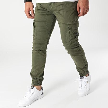 Deeluxe - Jogger Pant Garden Vert Kaki