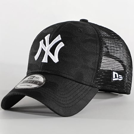 New Era - Casquette Trucker 9Forty Home Field New York Yankees Noir Camouflage