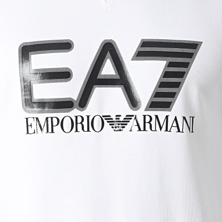EA7 Emporio Armani - Sweat Crewneck 6KPM60-PJ05Z Blanc