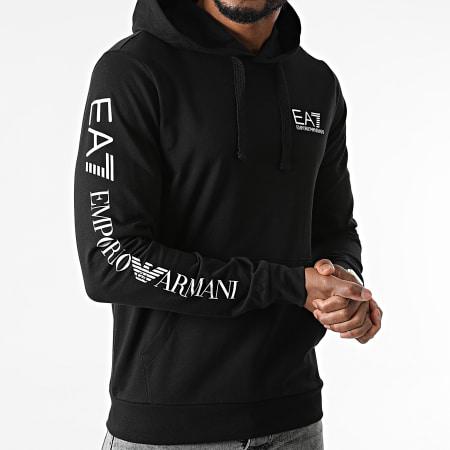 EA7 Emporio Armani - Sweat Capuche 8NPM18-PJ05Z Noir