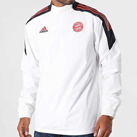 adidas - Coupe-Vent A Bandes Bayern Munich GS6924 Blanc