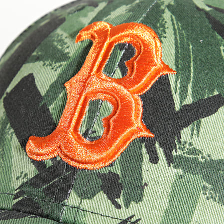 New Era - Casquette 9Forty New Camo Boston Red Sox Vert Kaki