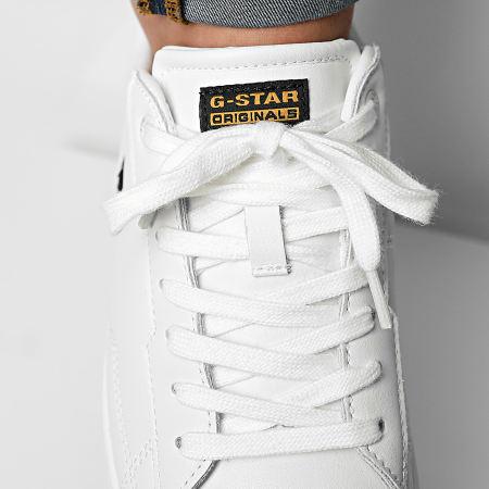 G-Star - Baskets Cadet Leather 2142 White
