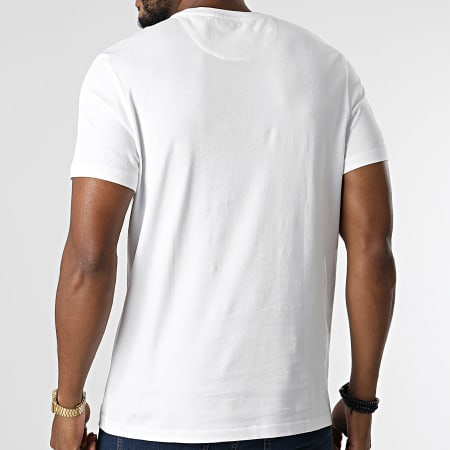 Lyle And Scott - Tee Shirt Poche TS831VOG Blanc