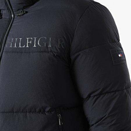 Tommy Hilfiger - Doudoune Capuche High Loft 9656 Bleu Marine