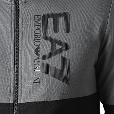 EA7 Emporio Armani - Ensemble De Survetement 6KPV53-PJ05Z Noir Gris