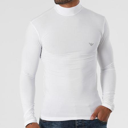 Emporio Armani - Tee Shirt Manches Longues 111695-1A511 Blanc
