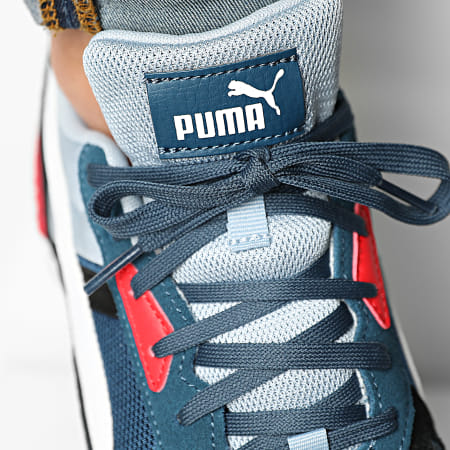 Puma - Baskets Graviton Pro 380736 Blue Blue Fog White Black Red
