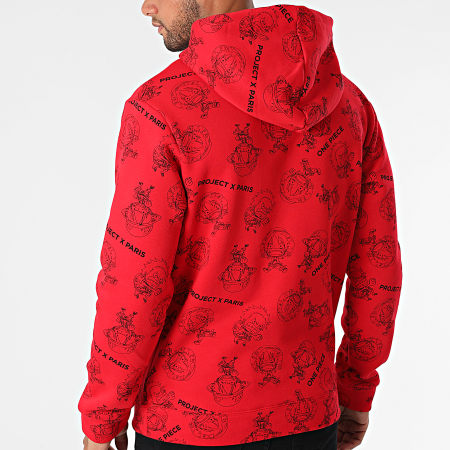 Project X - Sweat Capuche One Piece 2120124 Rouge