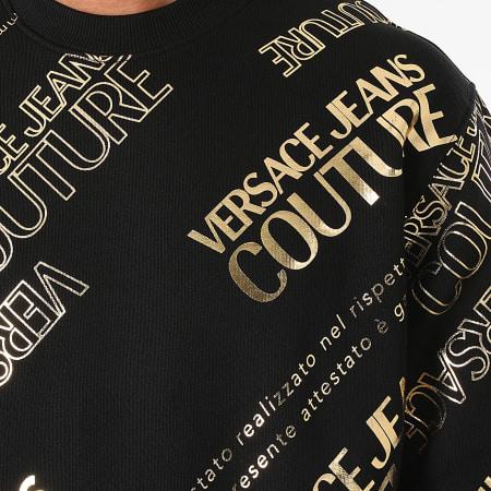 Versace Jeans Couture - Sweat Crewneck 71GAIT14-CFOOT Noir Doré