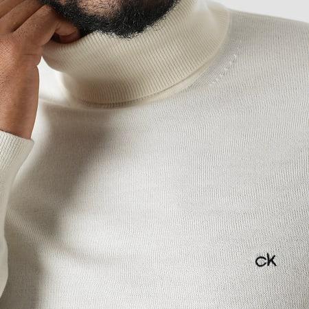 Calvin Klein - Pull Col Roulé 2751 Beige