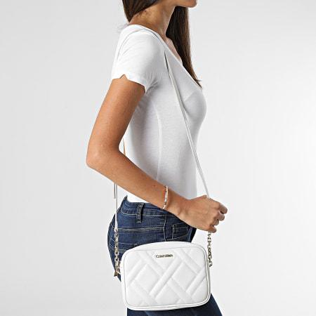 Calvin Klein - Sac a Main Femme Quilt 8446 Blanc