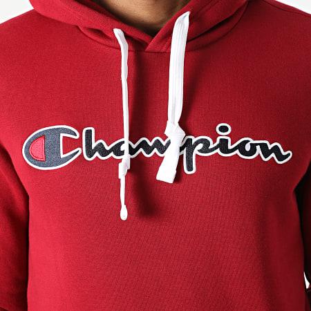 Champion - Sweat Capuche 216470 Bordeaux