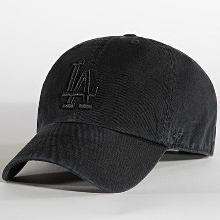 '47 Brand - Casquette Clean Up Adjustable Los Angeles Dodgers Noir